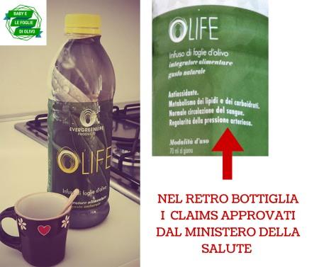 claims bottiglia infuso Olife